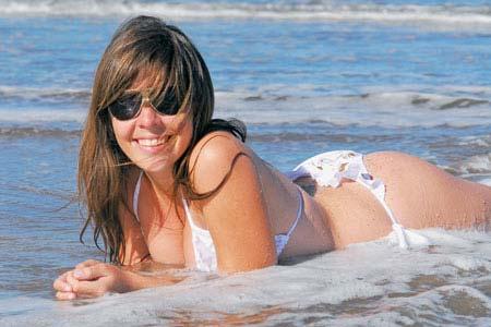 Foto de Dalma Maradona, filha de Diego Maradona