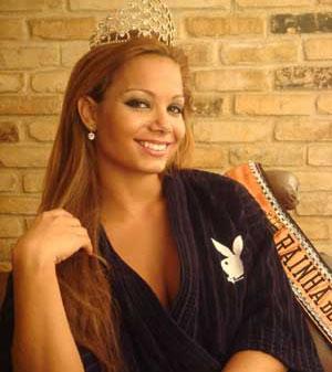 Jéssica Maia: Capa da Revista Playboy de Fevereiro 2009