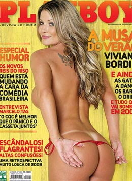 Na Capa Da Revista Vip De Maio Foto Fernanda Souza Nua Playboy