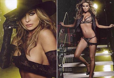 Fotos de Carmen Electra na revista Maxim Mexicana
