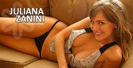 Juliana Zanini em fotos sensuais para o The Girl