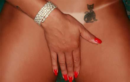 Fotos sensuais de Dani Bolina para o site Paparazzo
