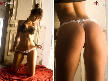 Fotos sensuais da gaúcha Lidia Barbieri para o site eh Gata