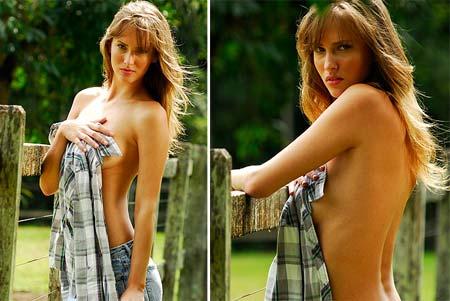 Fotos sensuais de Raquel Klanbunde no The Girl