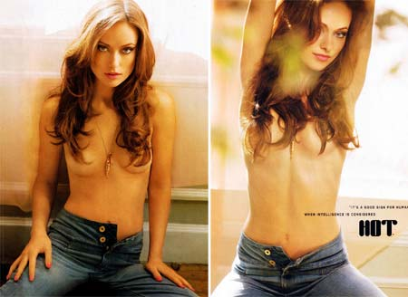 Olivia Wilde em fotos sensuais para a revista Maxim