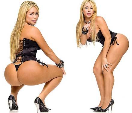Fotos sensuais de Cleo Cadilac para seu primeiro Filme Pornô