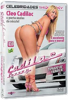 Capa do DVD Pornô de Cleo Cadilac chamado Cadilac Sexxxy