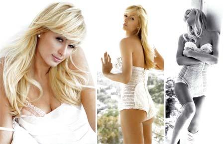 Fotos Sensuais de Paris Hilton na revista GHM Magazine
