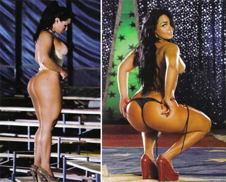 Fotos da Mulher Melancia nua na Playboy de Julho de 2009