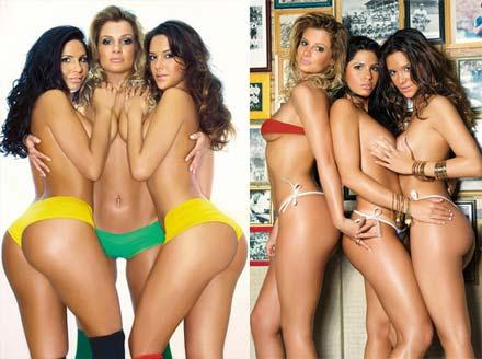 Fotos das Cheerleaders na Sexy de setembro