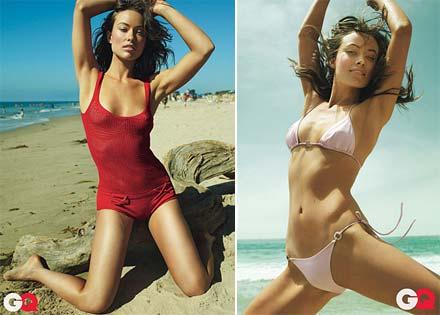 Olivia Wilde em fotos sensuais para a revista GQ