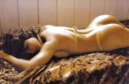 Fotos da Mulher Samambaia pelada na reista Sexy de Outubro