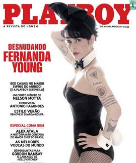 Fotos De Claudia Ohana Na Playboy Novembro