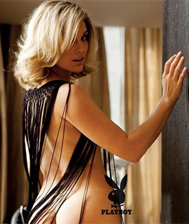 Foto de Flávia Alessandra pelada na Playboy de Dezembro