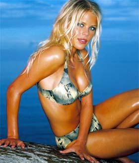 Elin Nordegren, mulher de Tiger Woods