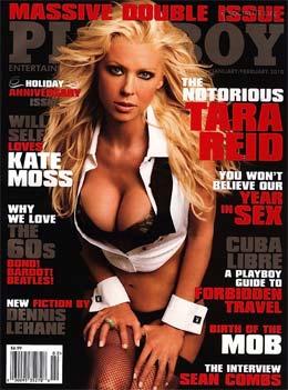Tara Reid é Capa da Playboy Americana de Janeiro de 2010