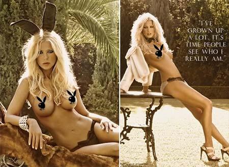 Fotos da atriz Tara Reid nua na Playboy Americana
