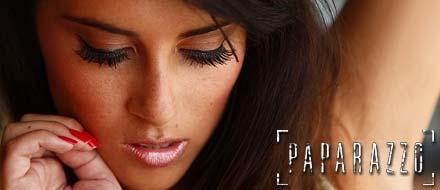 Karen Pila, ex de Michel BBB, no Paparazzo