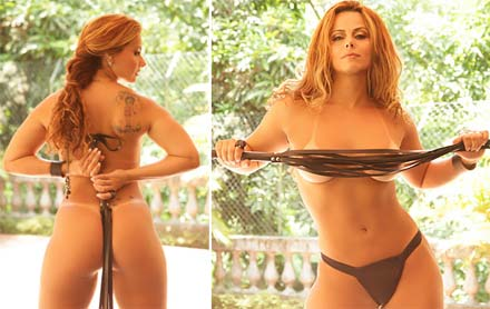Fotos sensuais Viviane Araújo no Paparazzo