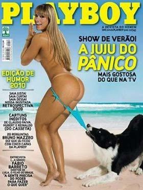 Juliana Salimeni na Capa da Playboy de Janeiro de 2010