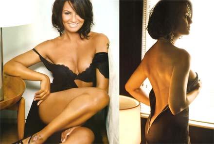 Fotos sensuais de Luiza Brunet na revista Maxim