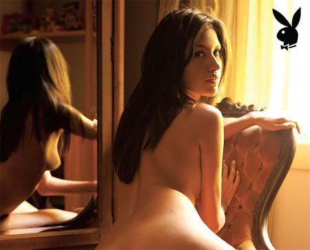 Tessália do BBB 10 Pelada na Playboy