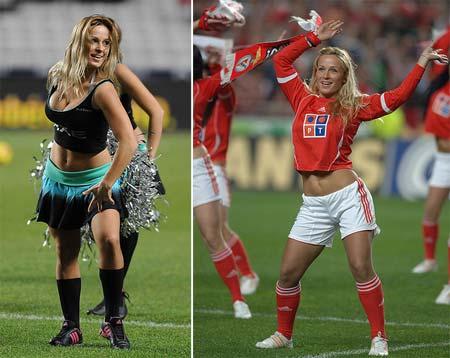 Mulheres Gostosas em Clima de Copa do Mundo