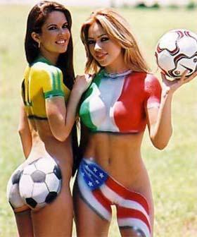 Torcedoras na Copa do Mundo