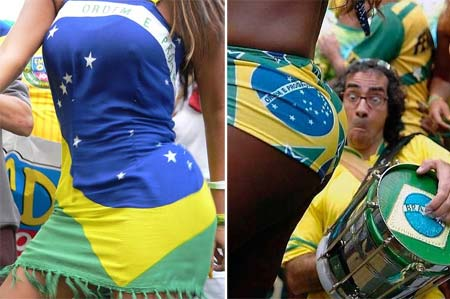 Torcedoras Gostosas Brasileiras