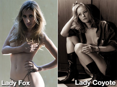 Lady Fox Contra Lady Coyote