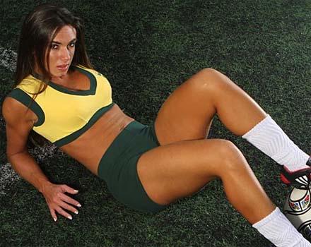 Nicole Bahls em Clime de Copa