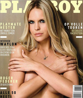 Hester Winkel na Playboy Holandesa