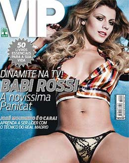 Panicat Babi Rossi na Capa da Revista VIP