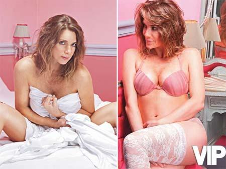 Fotos Sensuais de Letícia Spiller na VIP