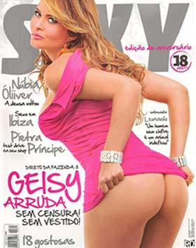 Geisy Arruda na revista Sexy