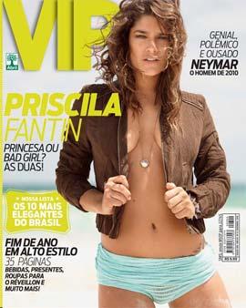 Priscila Fantin na Revista VIP de Dezembro