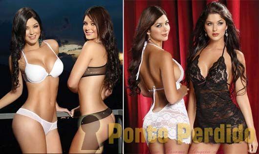 Fotos das Gêmeas Camila e Mariana Davalos