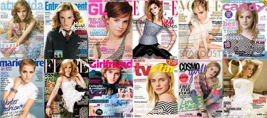 Emma Watson em Capas de Revistas