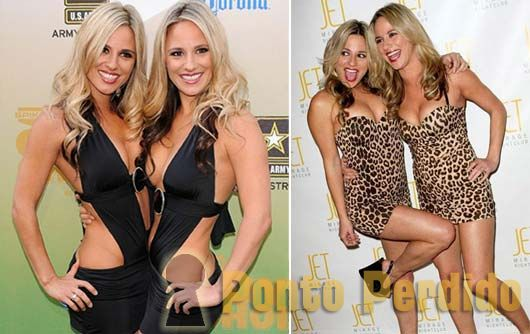 Fotos das Gêmeas Erica e Victoria Mongeon