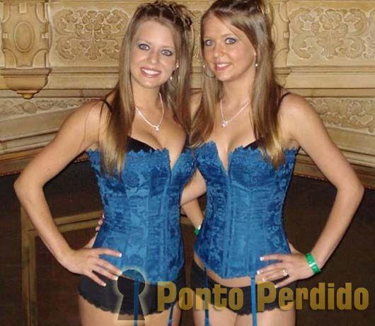 Fotos das Gêmeas Jennifer e Natalie Campbell