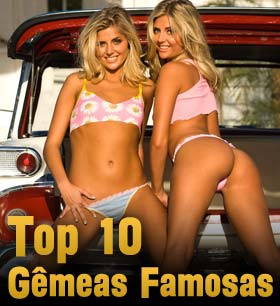 Top 10 Irmãs Gêmeas Famosas