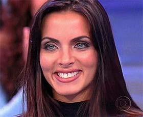 Carla Prata, assistente de palco do Faustão