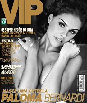 Atriz Paloma Bernardi na Revista VIP