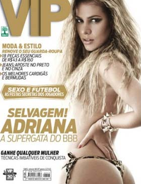 Adriana do BBB na Revista VIP