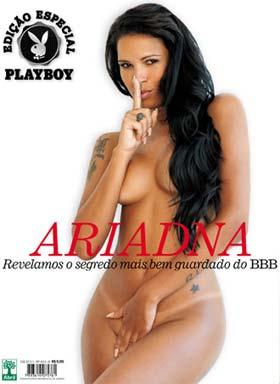 Ariadna do BBB 11 na Capa da Playboy