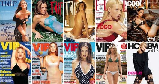 Luana Piovani é Capa de Diversas Revistas