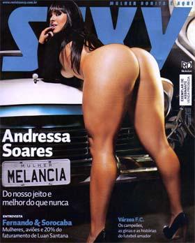 Mulher Melancia na Capa da Revista Sexy