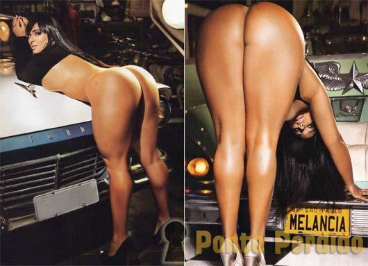 Fotos da Mulher Melancia na Revista Sexy