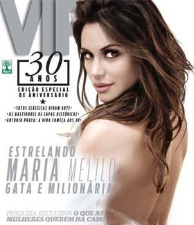 Maria Melilo do BBB na Capa da Revista VIP
