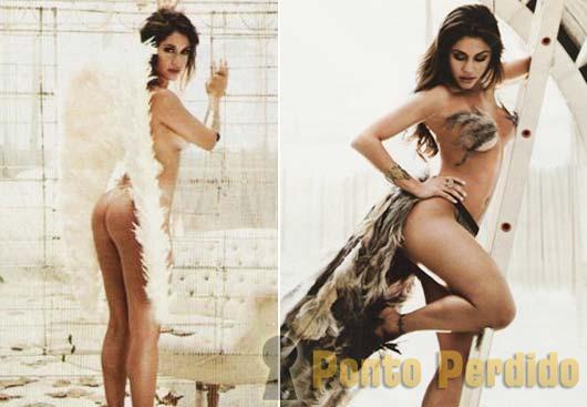 Fotos de Maria Melilo na Revista VIP de Junho